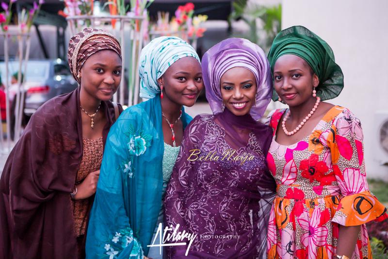 Farida Salisu Yusha'u & Abubakar Sani Aminu | Budan Kai - Hausa Muslim Nigerian Wedding | Atilary Photography | BellaNaija - October 2014 030.862C8774