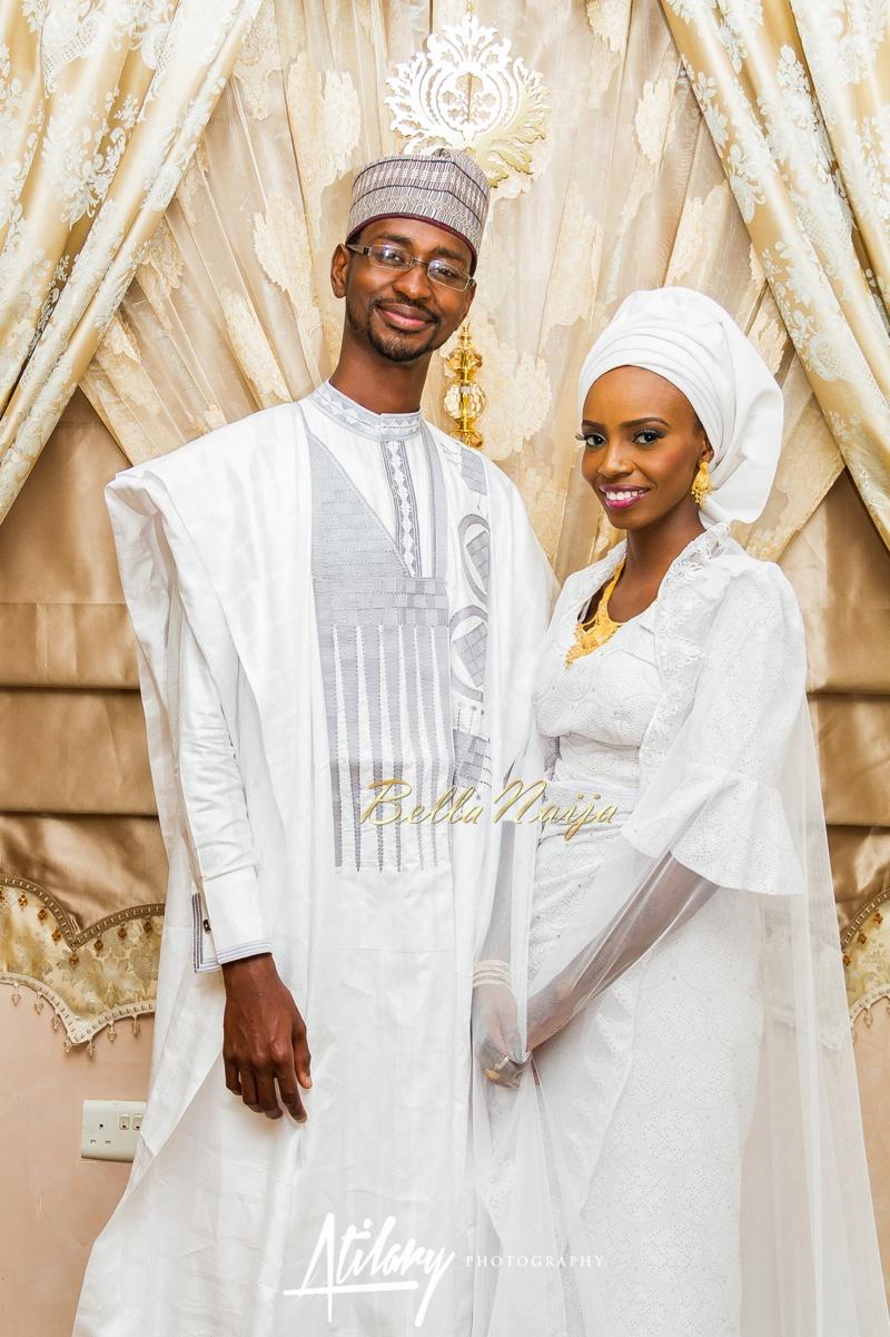 Farida Salisu Yusha'u & Abubakar Sani Aminu | Fatiha - Hausa Muslim Nigerian Wedding | Atilary Photography | BellaNaija - October 2014 010._MG_9030