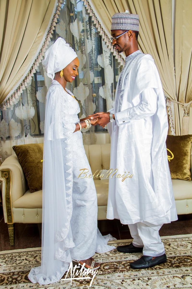Farida Salisu Yusha'u & Abubakar Sani Aminu | Fatiha - Hausa Muslim Nigerian Wedding | Atilary Photography | BellaNaija - October 2014 011._MG_9058