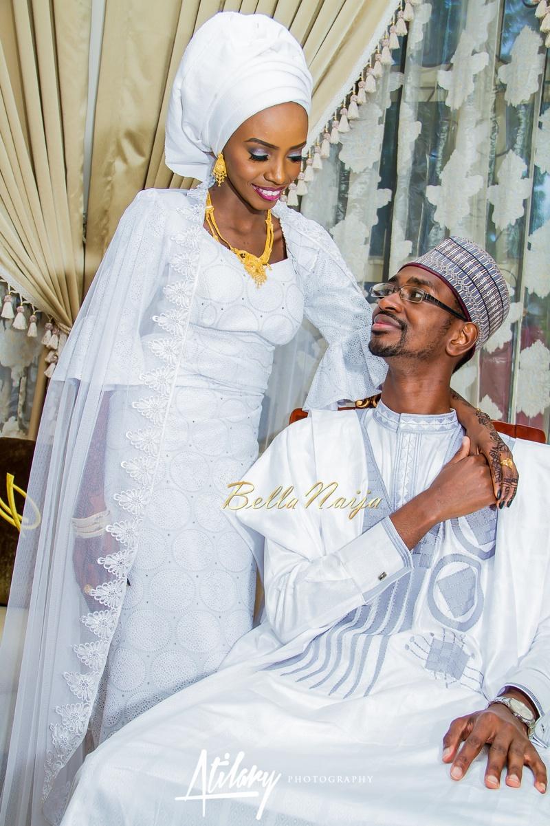 Farida Salisu Yusha'u & Abubakar Sani Aminu | Fatiha - Hausa Muslim Nigerian Wedding | Atilary Photography | BellaNaija - October 2014 012._MG_9071