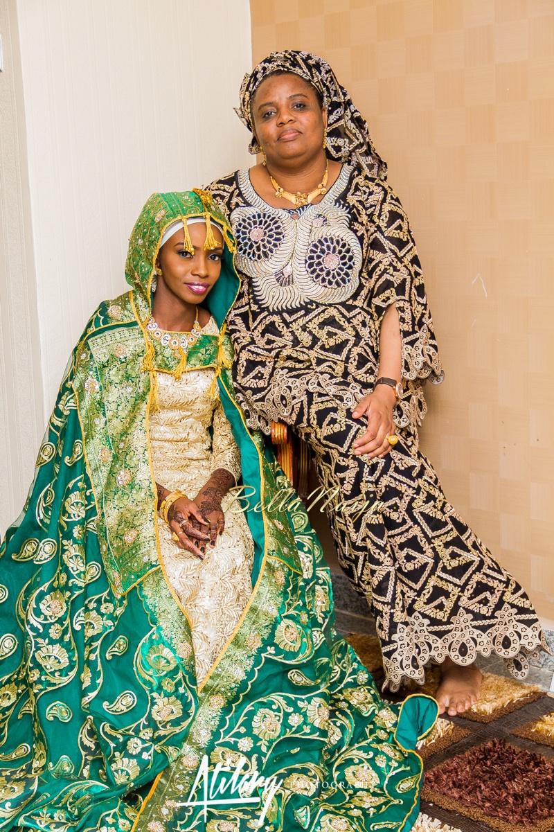 Farida Salisu Yusha'u & Abubakar Sani Aminu | Fatiha - Hausa Muslim Nigerian Wedding | Atilary Photography | BellaNaija - October 2014 014._MG_9199