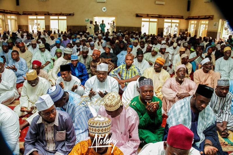 Farida Salisu Yusha'u & Abubakar Sani Aminu | Fatiha - Hausa Muslim Nigerian Wedding | Atilary Photography | BellaNaija - October 2014 015._MG_8756