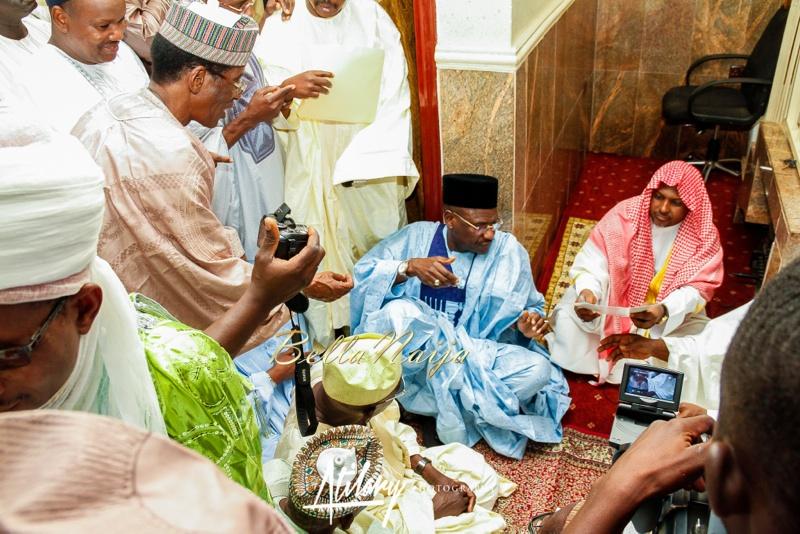 Farida Salisu Yusha'u & Abubakar Sani Aminu | Fatiha - Hausa Muslim Nigerian Wedding | Atilary Photography | BellaNaija - October 2014 016._MG_8763