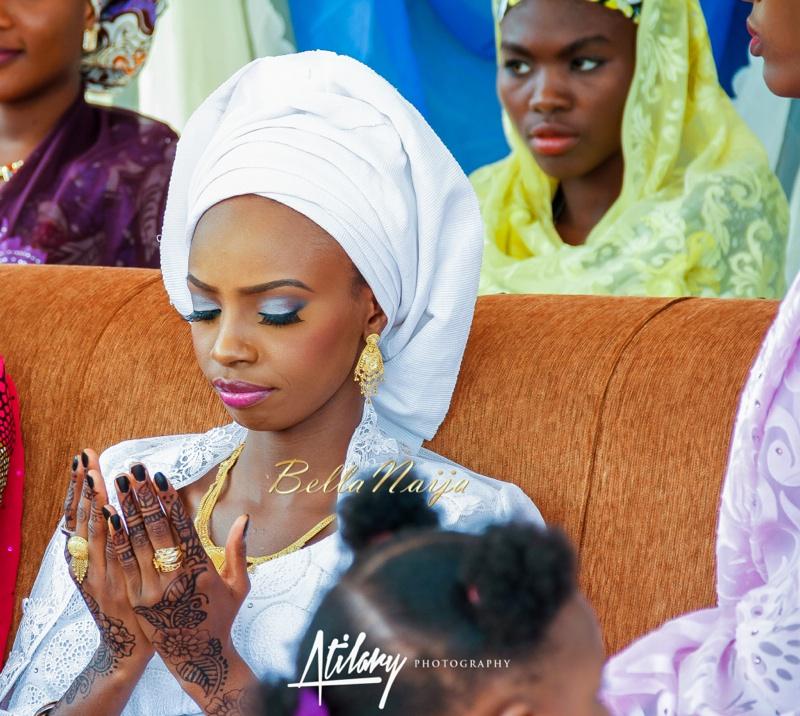 Farida Salisu Yusha'u & Abubakar Sani Aminu | Fatiha - Hausa Muslim Nigerian Wedding | Atilary Photography | BellaNaija - October 2014 021._MG_8879