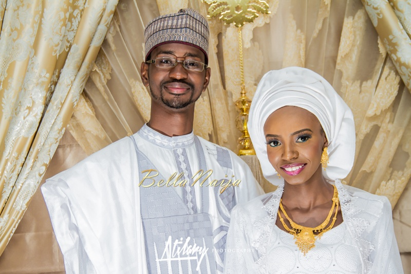 Farida Salisu Yusha'u & Abubakar Sani Aminu | Fatiha - Hausa Muslim Nigerian Wedding | Atilary Photography | BellaNaija - October 2014 027._MG_9038