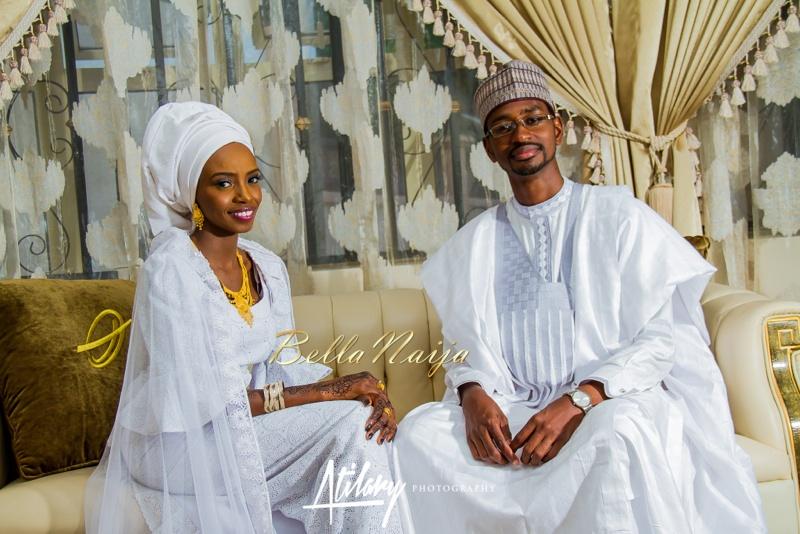 Farida Salisu Yusha'u & Abubakar Sani Aminu | Fatiha - Hausa Muslim Nigerian Wedding | Atilary Photography | BellaNaija - October 2014 028._MG_9041