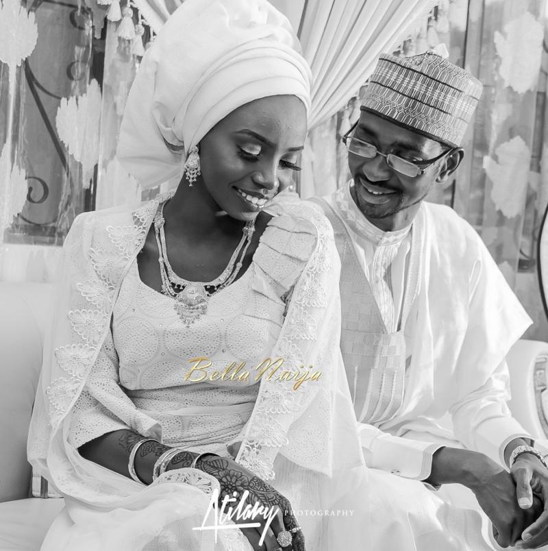 Farida Salisu Yusha'u & Abubakar Sani Aminu | Fatiha - Hausa Muslim Nigerian Wedding | Atilary Photography | BellaNaija - October 2014 029._MG_9049