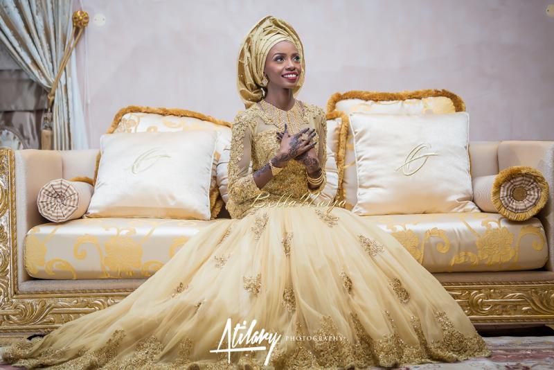Farida Salisu Yusha'u & Abubakar Sani Aminu | Hausa Muslim Nigerian Wedding | Atilary Photography | BellaNaija - October 2014 001.862C6389-Edit