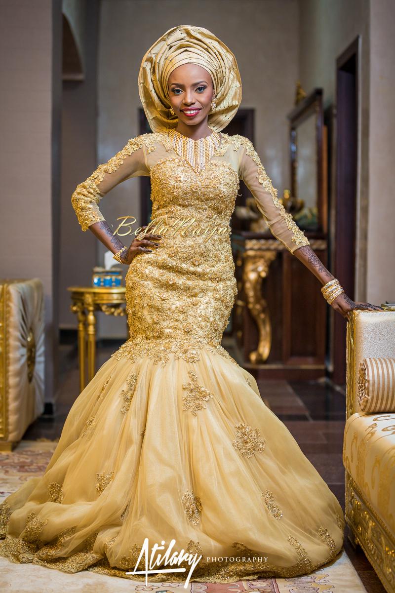 Farida Salisu Yusha'u & Abubakar Sani Aminu | Hausa Muslim Nigerian Wedding | Atilary Photography | BellaNaija - October 2014 004.862C6363