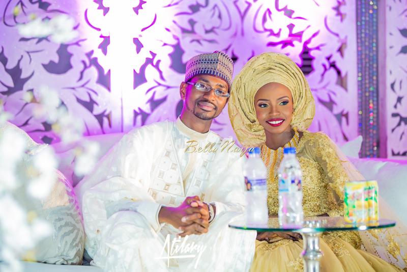 Farida Salisu Yusha'u & Abubakar Sani Aminu | Hausa Muslim Nigerian Wedding | Atilary Photography | BellaNaija - October 2014 004.862C6505