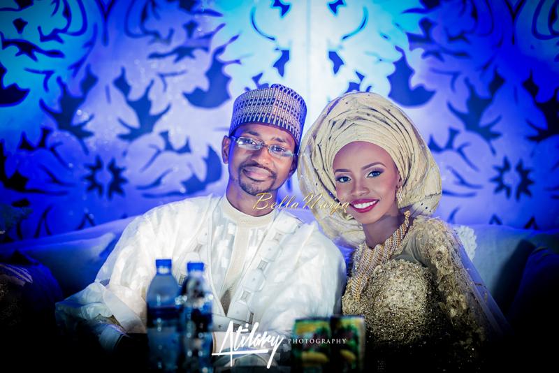 Farida Salisu Yusha'u & Abubakar Sani Aminu | Hausa Muslim Nigerian Wedding | Atilary Photography | BellaNaija - October 2014 005.862C6508