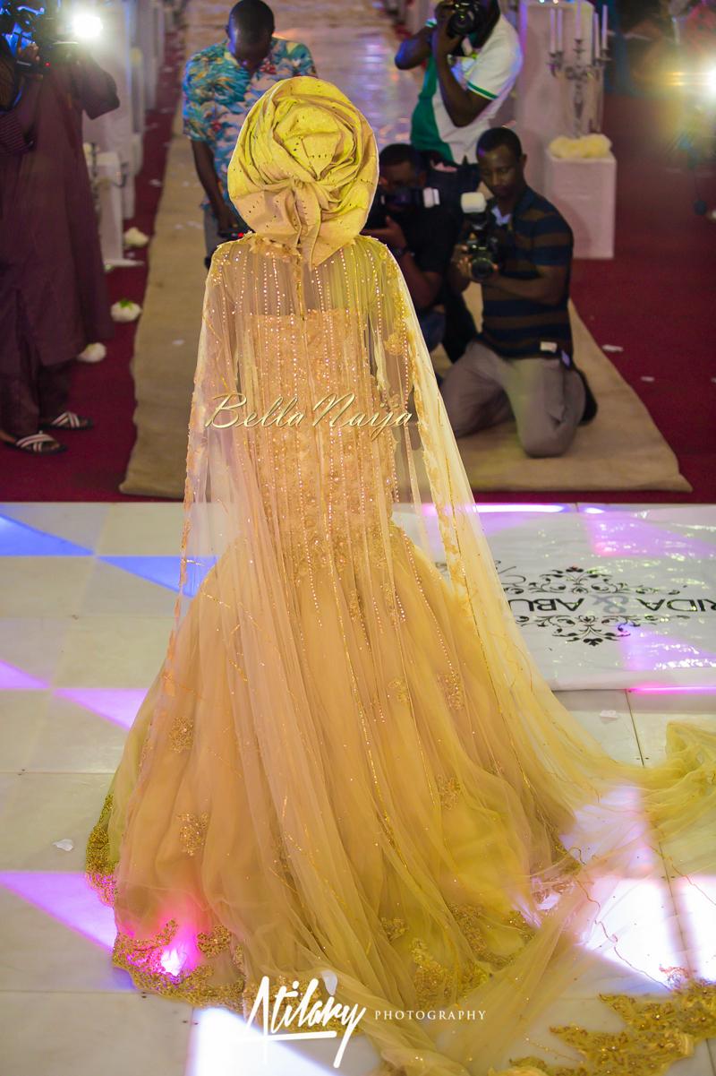Farida Salisu Yusha'u & Abubakar Sani Aminu | Hausa Muslim Nigerian Wedding | Atilary Photography | BellaNaija - October 2014 007.862C6551