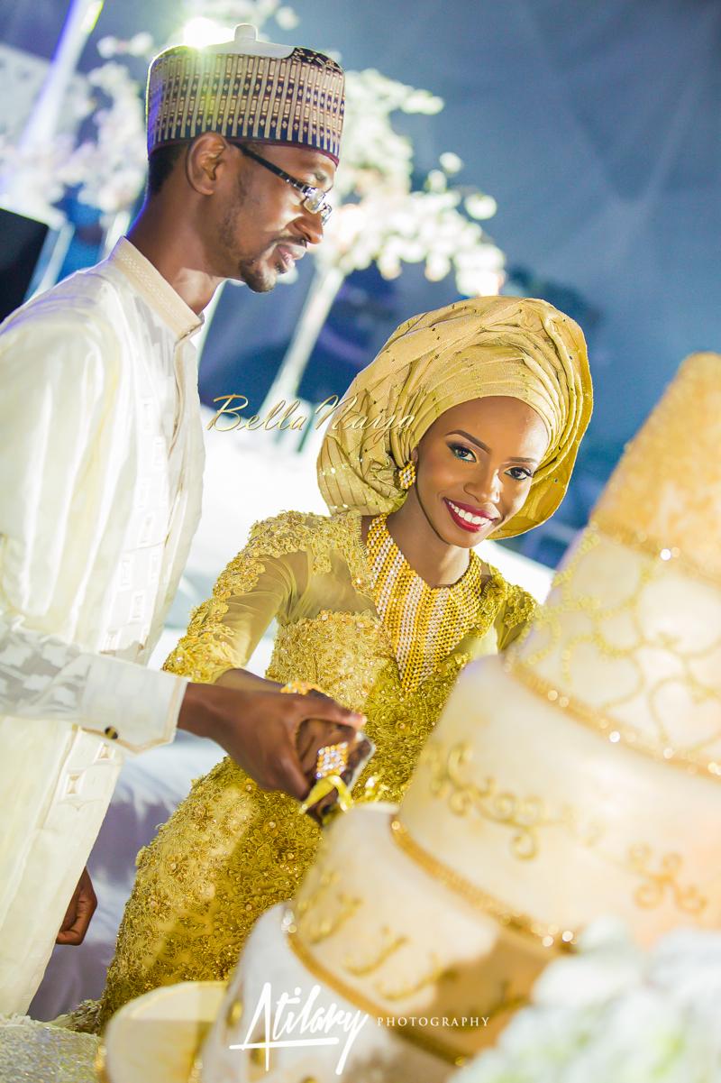 Farida Salisu Yusha'u & Abubakar Sani Aminu | Hausa Muslim Nigerian Wedding | Atilary Photography | BellaNaija - October 2014 008.862C6623