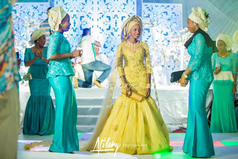 Farida Salisu Yusha'u & Abubakar Sani Aminu | Hausa Muslim Nigerian Wedding | Atilary Photography | BellaNaija - October 2014 009.862C6556