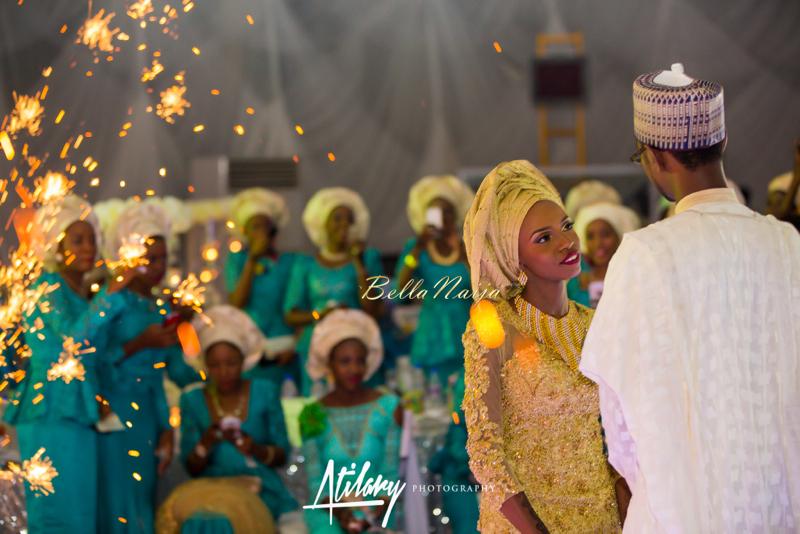 Farida Salisu Yusha'u & Abubakar Sani Aminu | Hausa Muslim Nigerian Wedding | Atilary Photography | BellaNaija - October 2014 012.862C6595