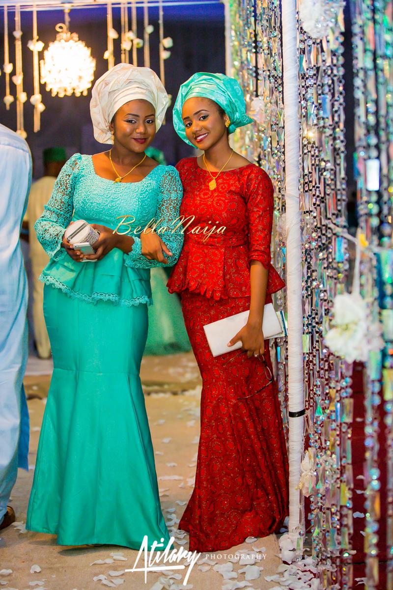 Farida Salisu Yusha'u & Abubakar Sani Aminu | Hausa Muslim Nigerian Wedding | Atilary Photography | BellaNaija - October 2014 014.862C6974