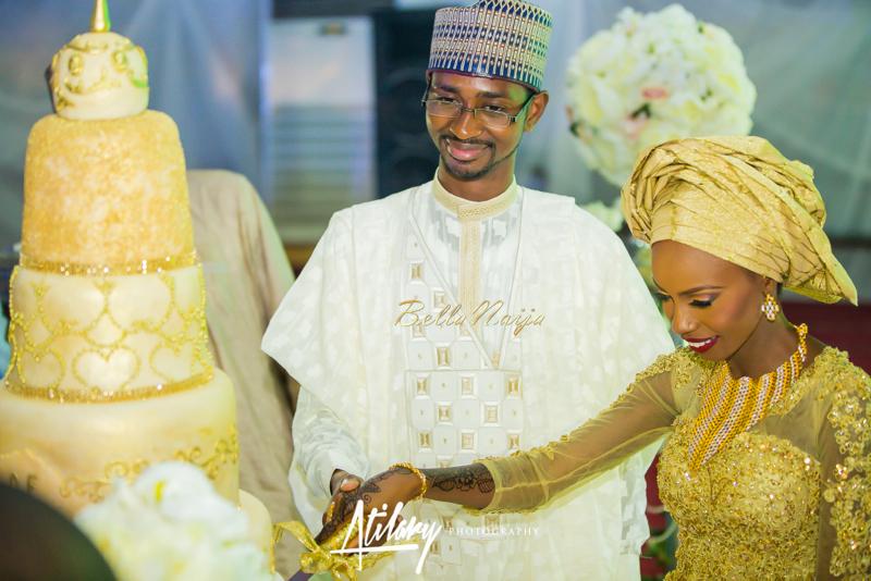 Farida Salisu Yusha'u & Abubakar Sani Aminu | Hausa Muslim Nigerian Wedding | Atilary Photography | BellaNaija - October 2014 015.862C6636