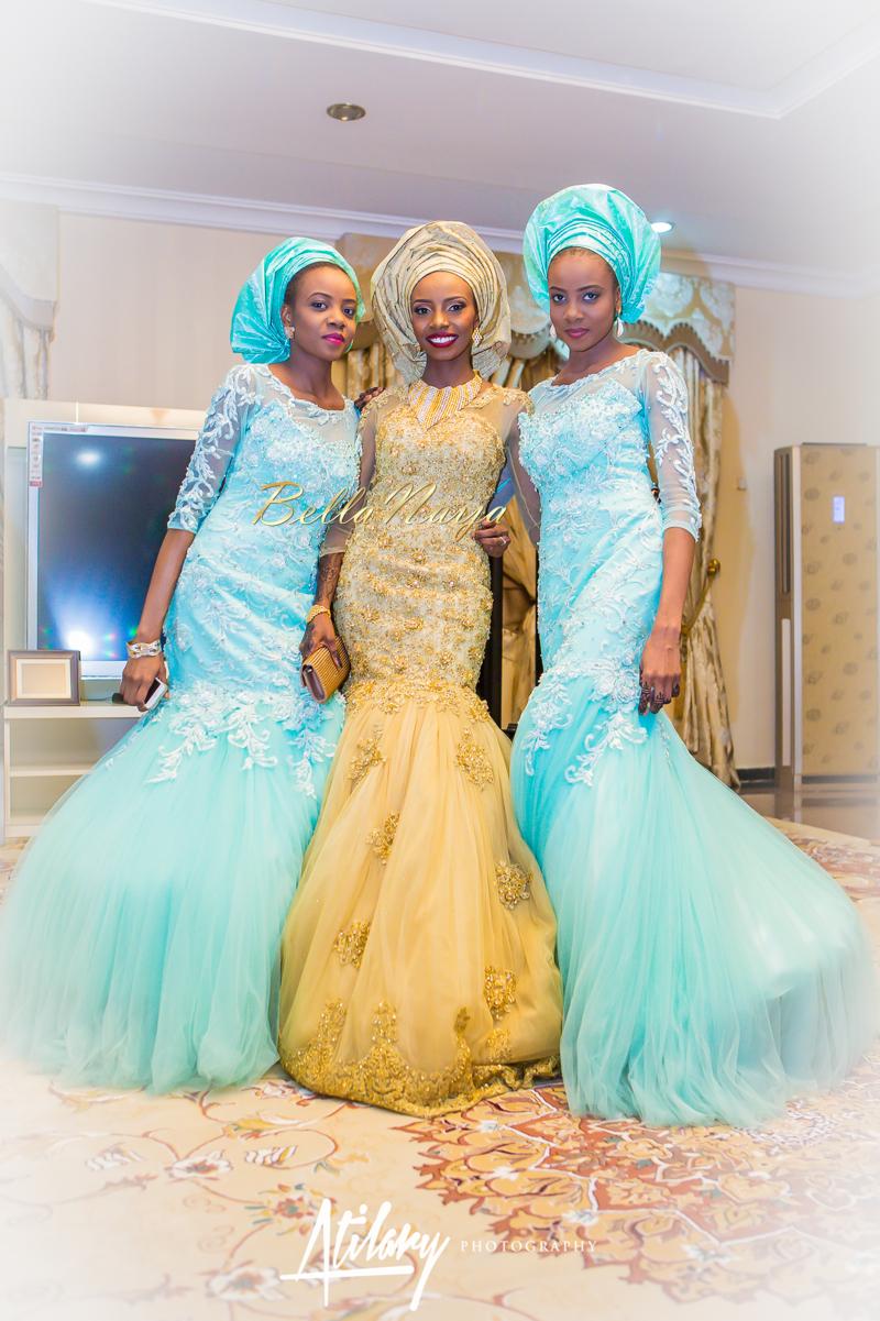 Farida Salisu Yusha'u & Abubakar Sani Aminu | Hausa Muslim Nigerian Wedding | Atilary Photography | BellaNaija - October 2014 015.862C7005
