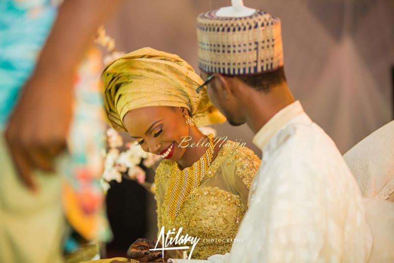 Farida Salisu Yusha'u & Abubakar Sani Aminu | Hausa Muslim Nigerian Wedding | Atilary Photography | BellaNaija - October 2014 017.862C6654