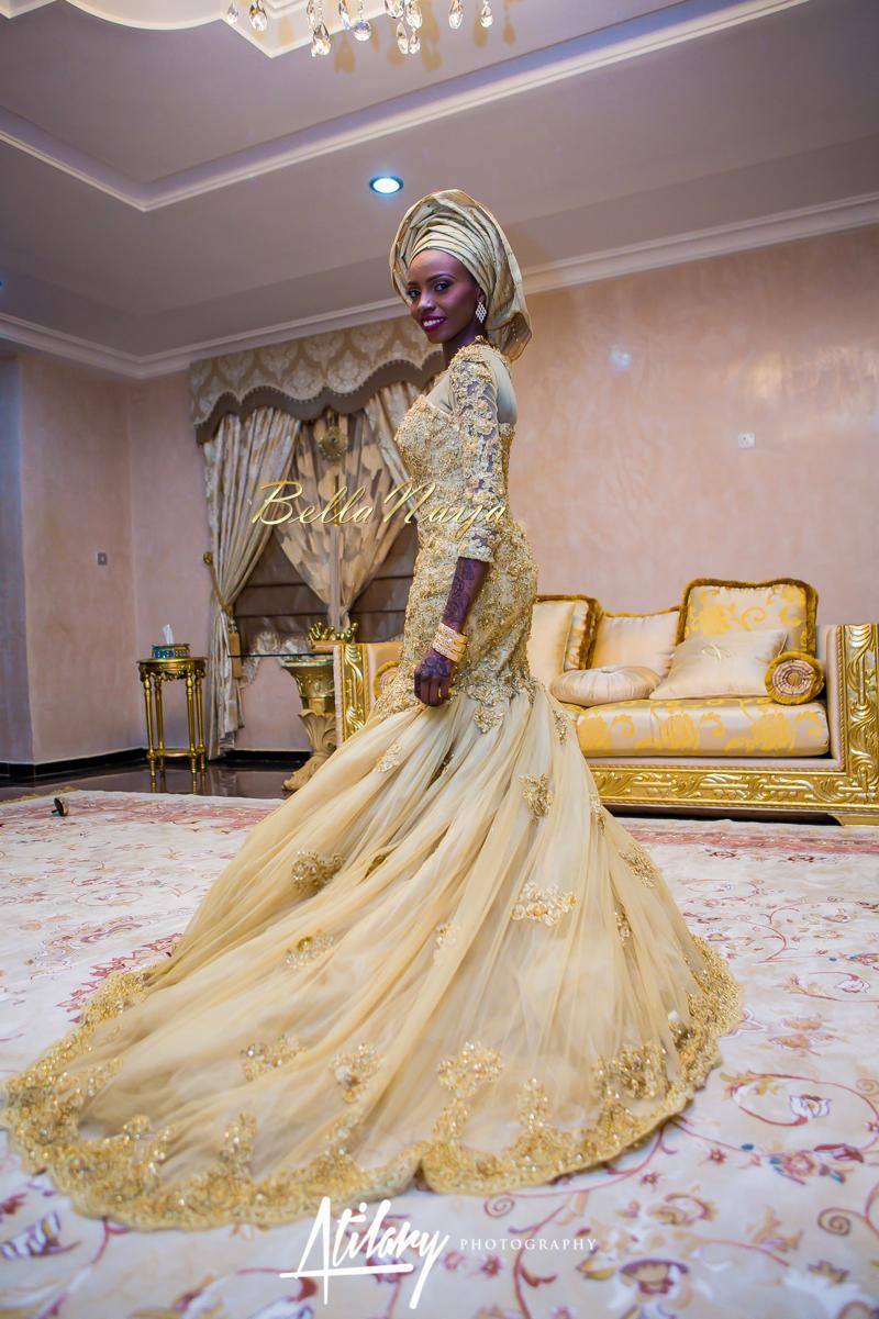 Farida Salisu Yusha'u & Abubakar Sani Aminu | Hausa Muslim Nigerian Wedding | Atilary Photography | BellaNaija - October 2014 017.862C7062