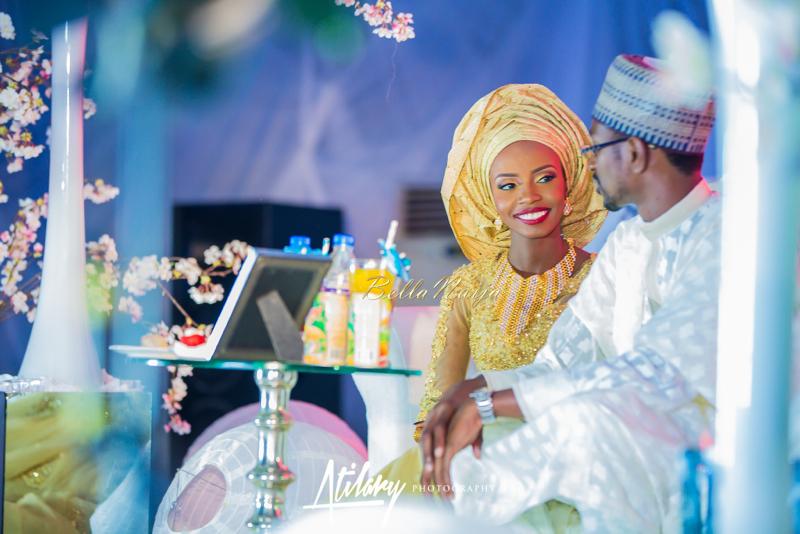 Farida Salisu Yusha'u & Abubakar Sani Aminu | Hausa Muslim Nigerian Wedding | Atilary Photography | BellaNaija - October 2014 022.862C6735
