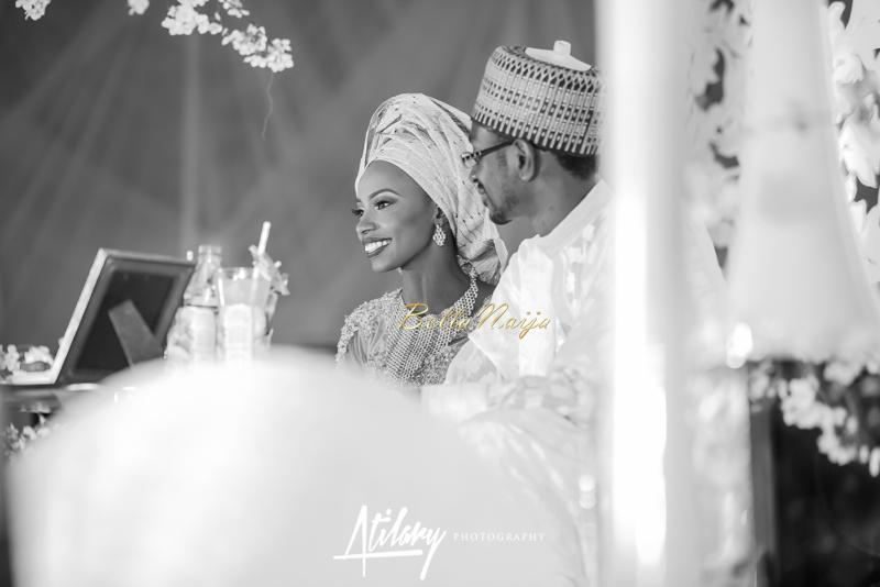 Farida Salisu Yusha'u & Abubakar Sani Aminu | Hausa Muslim Nigerian Wedding | Atilary Photography | BellaNaija - October 2014 023.862C6737