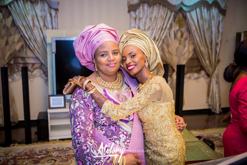 Farida Salisu Yusha'u & Abubakar Sani Aminu | Hausa Muslim Nigerian Wedding | Atilary Photography | BellaNaija - October 2014 040.862C7029