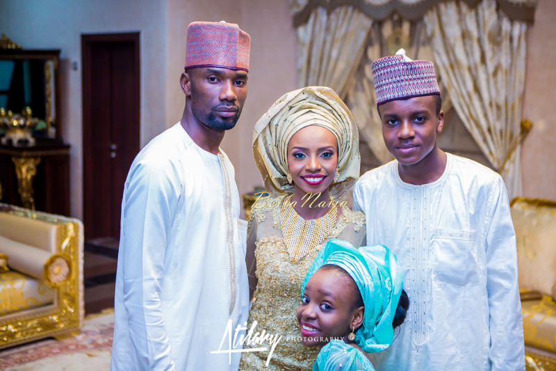 Farida Salisu Yusha'u & Abubakar Sani Aminu | Hausa Muslim Nigerian Wedding | Atilary Photography | BellaNaija - October 2014 046.862C7095