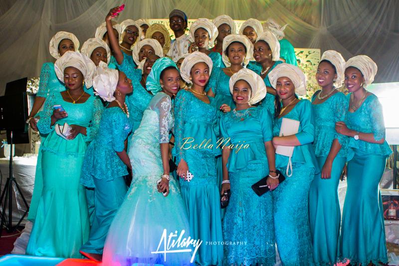 Farida Salisu Yusha'u & Abubakar Sani Aminu | Hausa Muslim Nigerian Wedding | Atilary Photography | BellaNaija - October 2014 075.IMG_9595