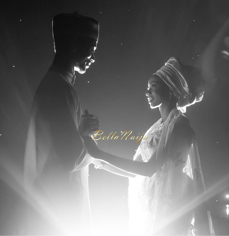 Farida Salisu Yusha'u & Abubakar Sani Aminu | Hausa Muslim Nigerian Wedding | Maigaskiya Photography | BellaNaija - October 2014 01.photo 1