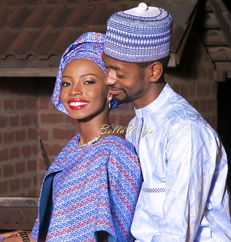 Farida Salisu Yusha'u & Abubakar Sani Aminu | Hausa Muslim Nigerian Wedding | Maigaskiya Photography | BellaNaija - October 2014 01.photo 2 (1)