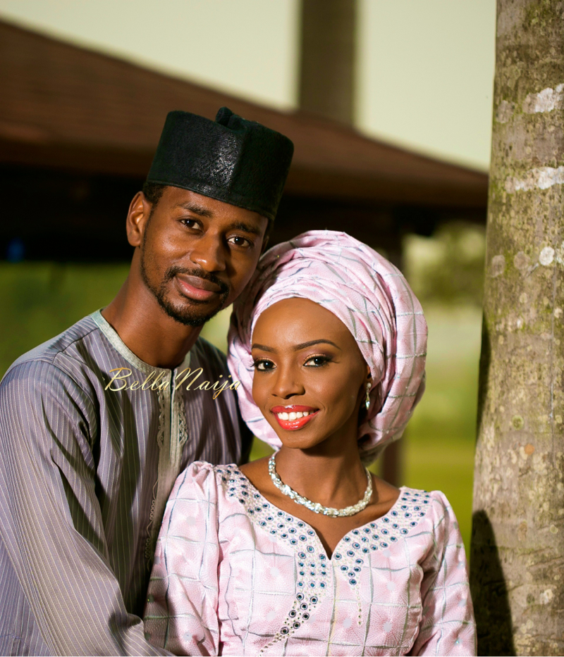 Farida Salisu Yusha'u & Abubakar Sani Aminu | Hausa Muslim Nigerian Wedding | Maigaskiya Photography | BellaNaija - October 2014 01.photo 2
