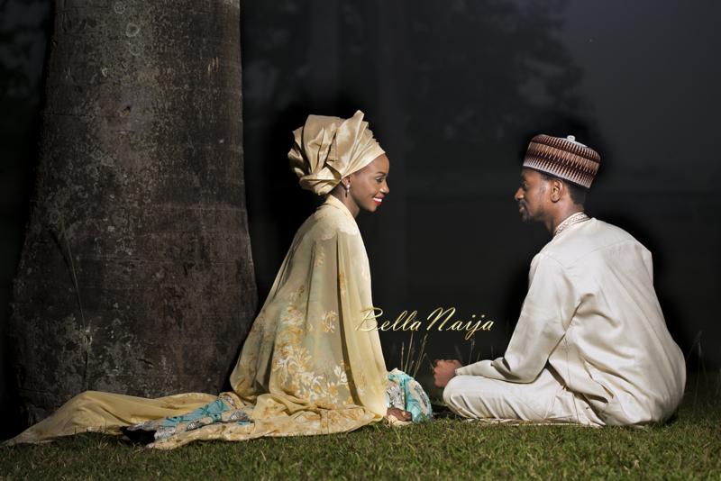Farida Salisu Yusha'u & Abubakar Sani Aminu | Hausa Muslim Nigerian Wedding | Maigaskiya Photography | BellaNaija - October 2014 01.photo 3 (1)