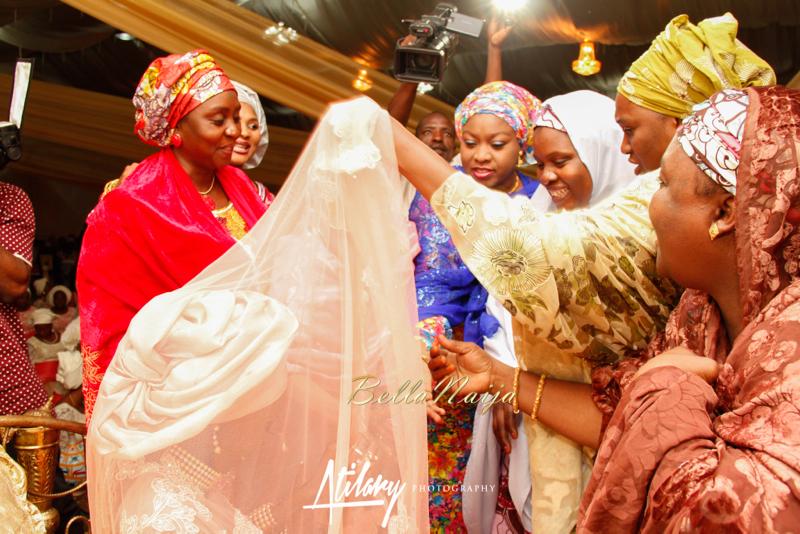 Farida Salisu Yusha'u & Abubakar Sani Aminu | Kamu - Hausa Muslim Nigerian Wedding | Atilary Photography | BellaNaija - October 2014 030._MG_8370
