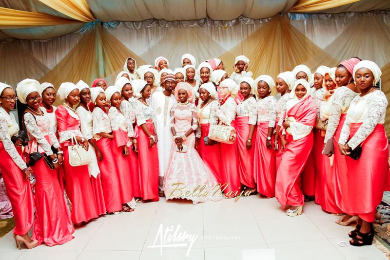 Farida Salisu Yusha'u & Abubakar Sani Aminu | Kamu - Hausa Muslim Nigerian Wedding | Atilary Photography | BellaNaija - October 2014 041._MG_8518