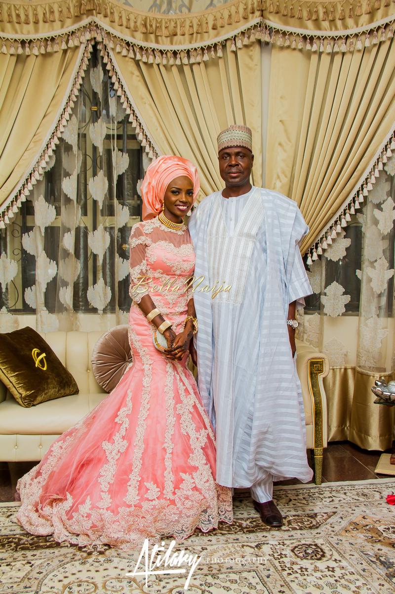 Farida Salisu Yusha'u & Abubakar Sani Aminu | Kamu - Hausa Muslim Nigerian Wedding | Atilary Photography | BellaNaija - October 2014 08._MG_8693