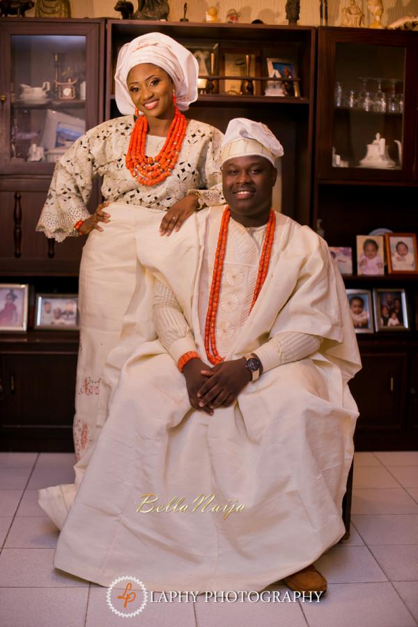 Foluso & Tunde Leye   Yoruba Lagos Nigerian Wedding   Laphy Photography   BellaNaija October 2014 0.75