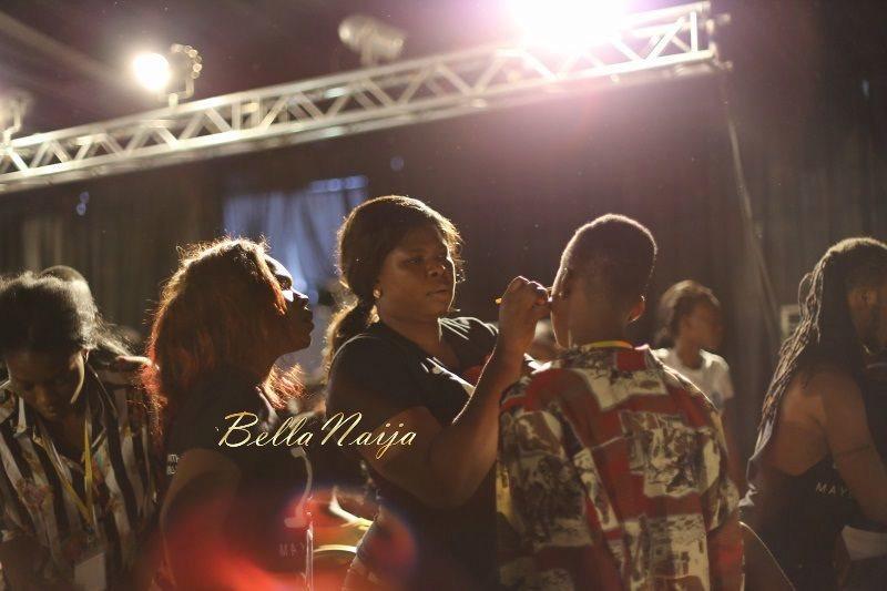 GTBank Lagos Fashion & Design Week 2014 Backstage - Bellanaija - October2014029