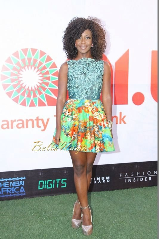 GTBank Lagos Fashion & Design Week 2014 Day 1 Red Carpet - Bellanaija - October2014012