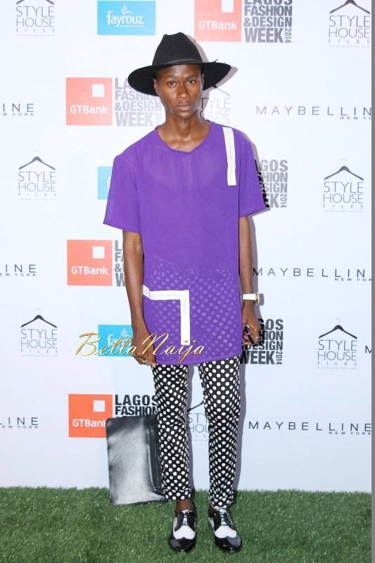 GTBank Lagos Fashion & Design Week 2014 Day 1 Red Carpet - Bellanaija - October2014016