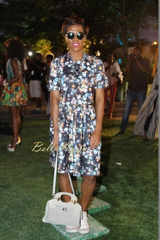 GTBank Lagos Fashion & Design Week 2014 Day 1 Red Carpet - Bellanaija - October2014019