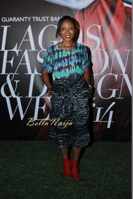 GTBank Lagos Fashion & Design Week 2014 Day 1 Red Carpet - Bellanaija - October2014020
