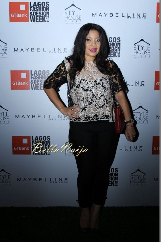 GTBank Lagos Fashion & Design Week 2014 Day 1 Red Carpet - Bellanaija - October2014033