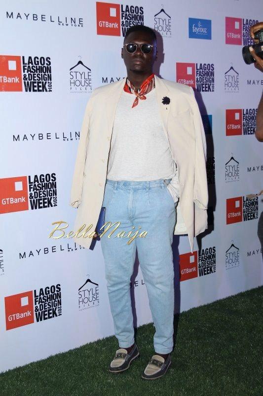 GTBank Lagos Fashion & Design Week 2014 Day 2 Red Carpet - Bellanaija - October2014004