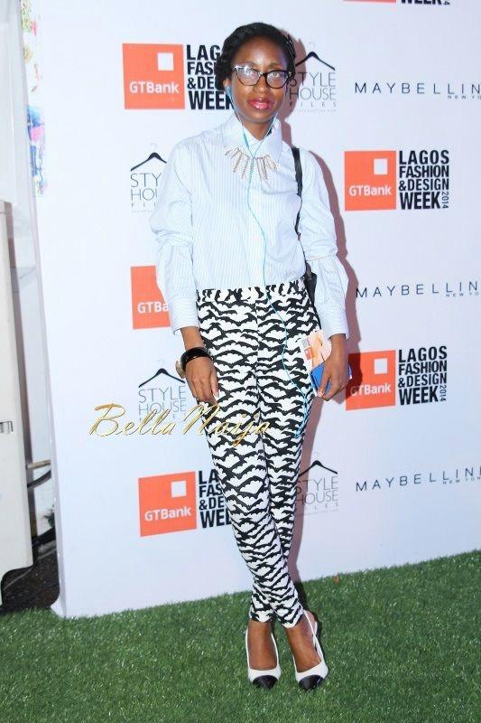 GTBank Lagos Fashion & Design Week 2014 Day 2 Red Carpet - Bellanaija - October2014008