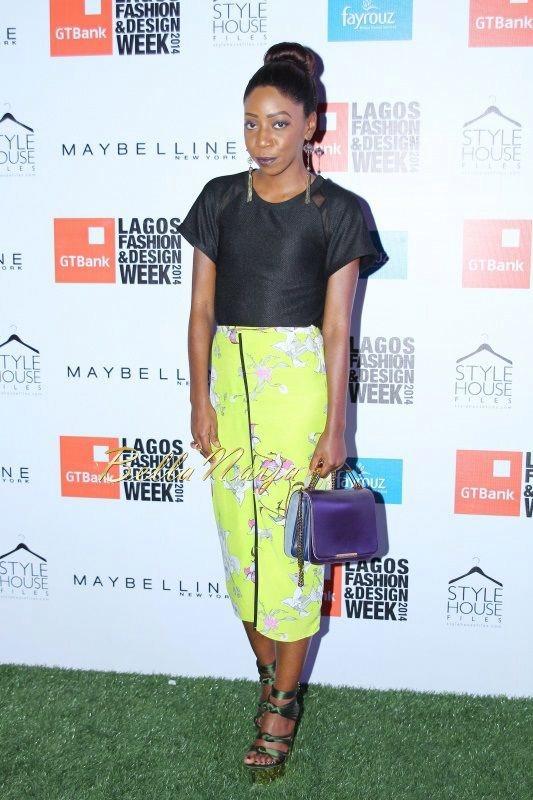 GTBank Lagos Fashion & Design Week 2014 Day 2 Red Carpet - Bellanaija - October2014041