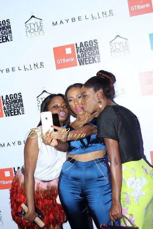 GTBank Lagos Fashion & Design Week 2014 Day 2 Red Carpet - Bellanaija - October2014043