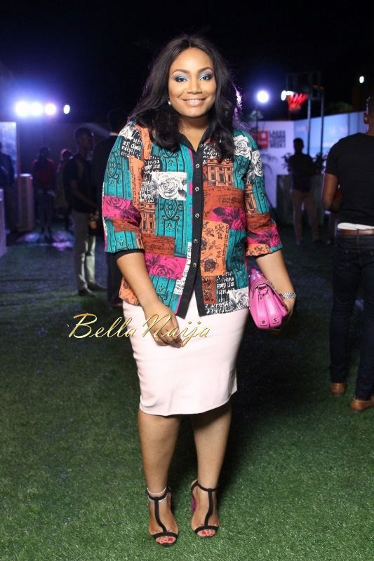 GTBank Lagos Fashion & Design Week 2014 Day 2 Red Carpet - Bellanaija - October2014049