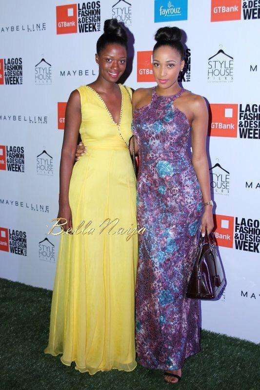 GTBank Lagos Fashion & Design Week 2014 Day 2 Red Carpet - Bellanaija - October2014051