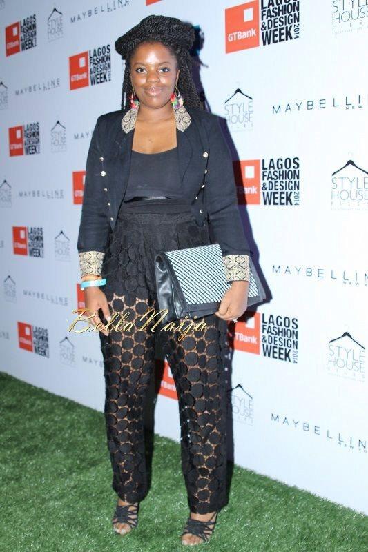 GTBank Lagos Fashion & Design Week 2014 Day 2 Red Carpet - Bellanaija - October2014054